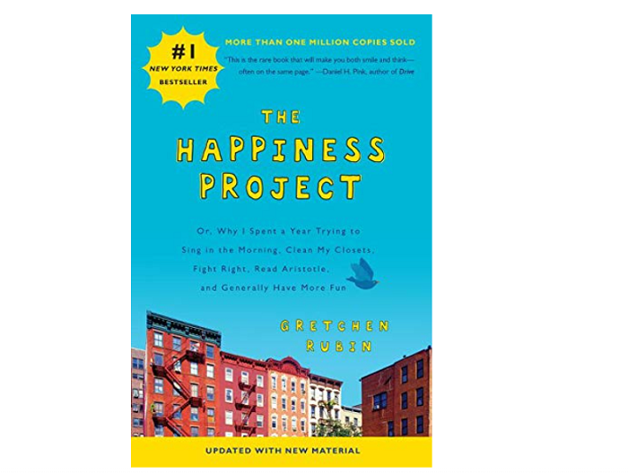 The Happiness Project by Gretchen Rubin books that make you think