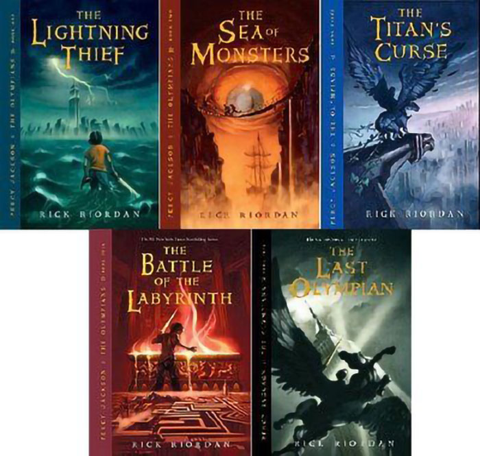 Percy Jackson and the Olympians book series