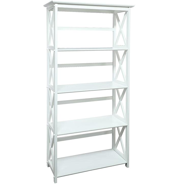 Montego 5-Shelf bookshelves