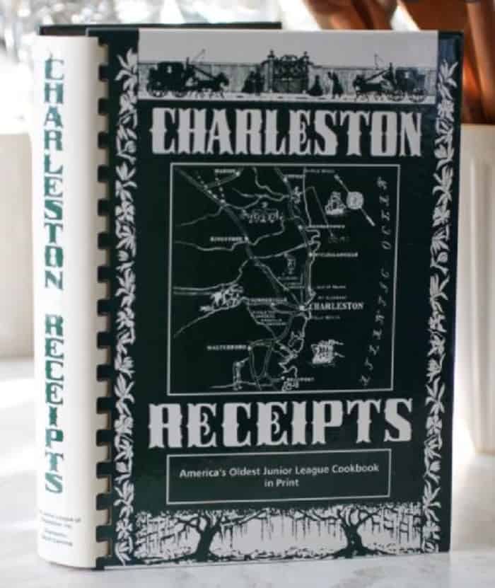 charleston receipts- old fashioned recipe books