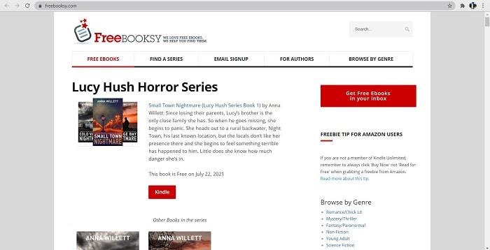 freebooksy- find free books online