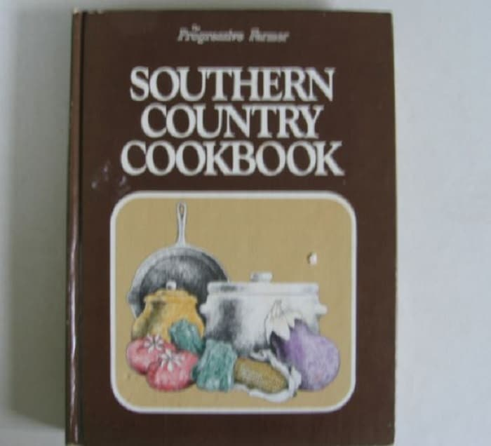 southern country old fashioned recipe books